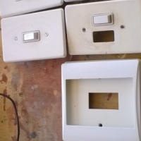 Light switches, transformer and plugs for sale