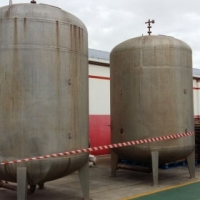 3 x Stainless Steel Carbon Filter Tanks for Sale