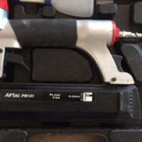 rapid airtac pb131 air nail gun in box stil allmost new