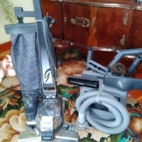 Kirby Vacuum Cleaner with attachments,recently serviced to swop for why?