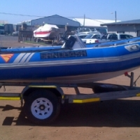 Used, 4.3M RUBBER DUCK WITH 40HP YAMAHA MOTOR !!!! for sale  Pinetown