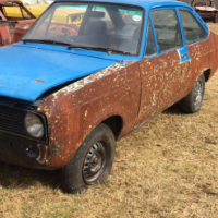 Project Model: 1600 Ford Escort Sport 2 Door
