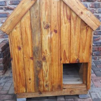 For Sale 1 x Wooden Dog Kennel Brand New