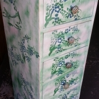 Flower Cabinet with 5 Drawers (410x510x1200)