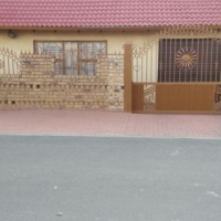 3-Bedroom Well Secured, Paved and Tiled House in Soshanganguve Block UU