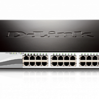 D-Link 28-Port Gigabit WebSmart Switch with 24 UTP and 4 SFP Ports--DGS-1210-28