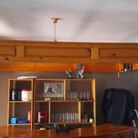Bar te koop met kas en 4 bar stoele