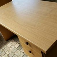 Oak desk 3 drawer - Clearance Sale