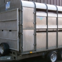 Sheep Trailer And Loading Ramp