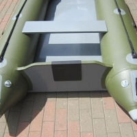 Inflatable rubber duck boat 3.2m.Perfect for species and bass fishing .NEW