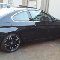 Imaculate Black BMW E92 325i Coupe
