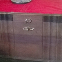 Vintage Imbuia Ball and Claw Kist R1000