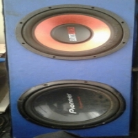 2×12 inch subs with box