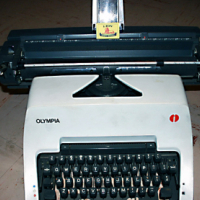 Olympia International Typewriter