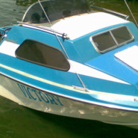 VAGABOND CABIN CRUISER 60HP YAMAHA ELECRTIC START 4 SLEEPER