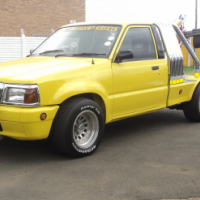 Ford Courier V8 Tow Truck