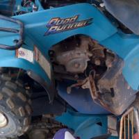 2x suzuki lt 160cc stripping @clives bikes durban