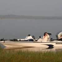 Bass Boat, Crackleback 500 with Mariner 150 EFI V6 Outboard