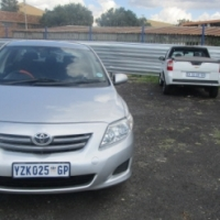 Toyota corolla 1,6 2008 Model,5 Doors factory A/C And C/D Player