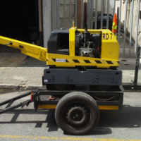 Used, Wacker Neuson RD7 with site trailer for sale  West Rand