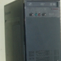 LENOVO CORE 2 DUO TOWER WITH 320GB HDD WINDOWS 7 LICENSED.