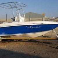 2 x Evinrude E-Tec 90hp Motors On 19Ft Deep Sea Fishing Boat