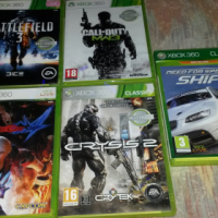 5 XBox games for sale