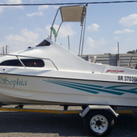 2 x Mercury 40Hp Motors On 18Ft Cabin Boat