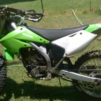 kawasaki kx 250 f 2006, used for sale  South Africa