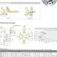 Kitagawa Power Chuck 2 Jaw - BT 208- New