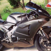 96 Honda rvf 400 nc35 with aftermarket tyga fairing kit for sale