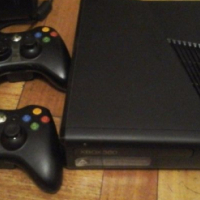 """In box, Xbox 360 Slimline 250GB Hard Drive """"S"""" Edition with 2 Latest Games & 2 Controllers..., used for sale  East Rand"""