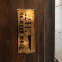Union Billard 147 3/4 pool/snooker marble top table
