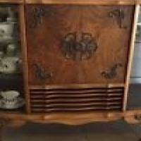 Antique Display Cabinet/ Radiogram