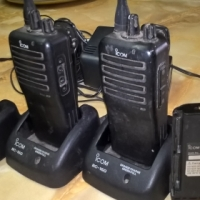 Icon BC-160 Two Way 16 Channel Radios - R3350 Neg.