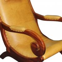 Lazy Jo Rocker Leather Chair