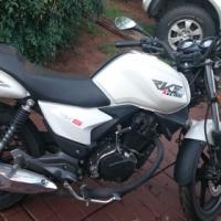 Keeway 125cc motorbike