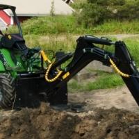 Avant 528: en dan een of meer van die volgende: Mini / compact  Articulated digger/tractor/excavator