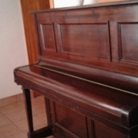 PIANO. UPRIGHT GEORGE ROGERS & SONS (LONDON) PIANO