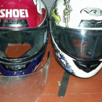2 helmets for sale