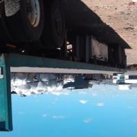 Tri-axle truck trailer