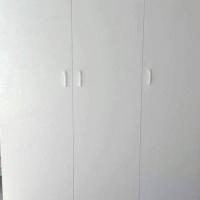 3 deur kas wit melamien 1800x1500x500
