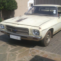 chev el camino 1972 .straight six , one owner, in running order