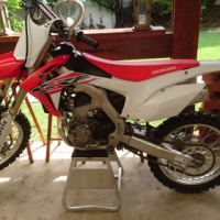 Low hour DEMO engine from 2016 Honda CRF250R
