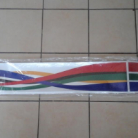 Brand New Quantum SA Flags reflective to fit on side as well as tailgate selling for R495