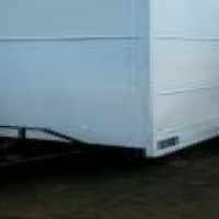 ONE TON - ENCLOSED TRAILER - FOR VENDING