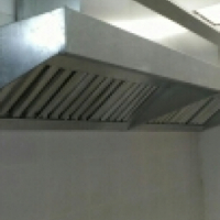 Kitchen canopy commercial