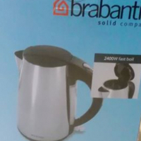 STAINLESS STEEL KETTLE- CORDLESS