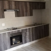 Spacious one bedroom and bathroom ground floor flat with private courtyard and very modern finishes