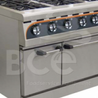 Anvil 6 Burner Combi Gas Stove / Electric Oven